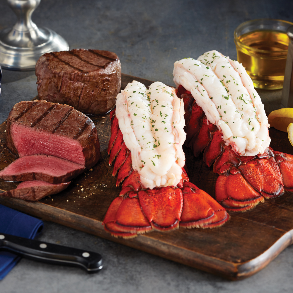 Maine Lobster Tails & Turf