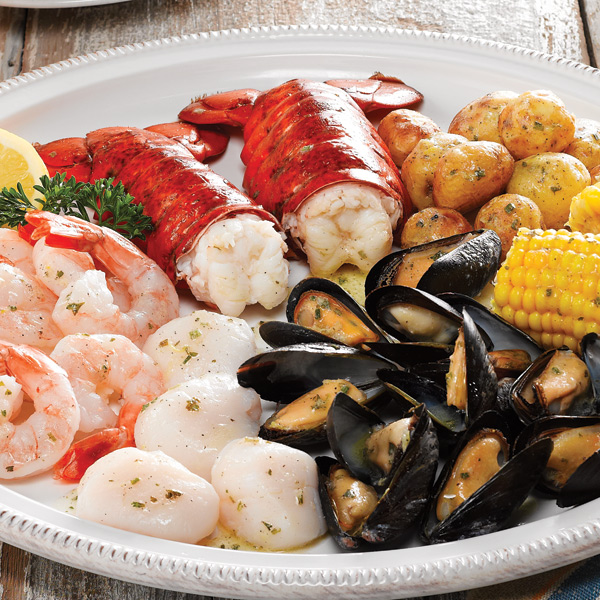 Maine Lobster Seafood Bake Dinner Package